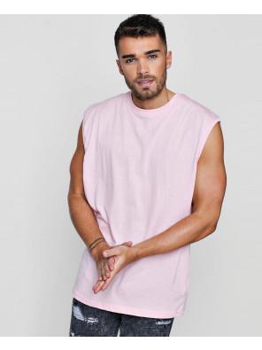 Men-Pink-Soft-Oversized-Tank-Top