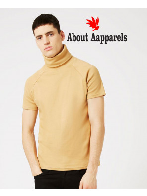Men-Turtleneck-Short-Sleeve-Sweatshirt