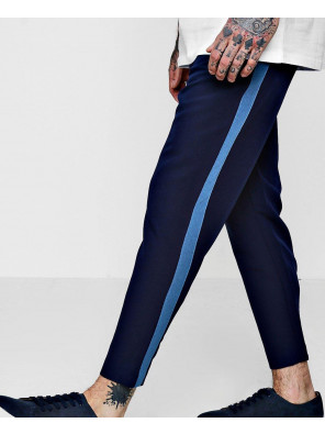 Navy-Blue-Taped-Skinny-Fit-Stretch-Trousers