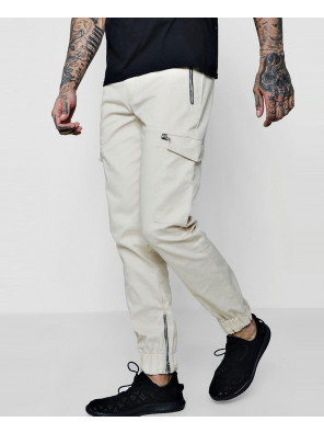 New-Hot-Selling-Custom-Woven-Jogger-Style-Cargo-Trousers