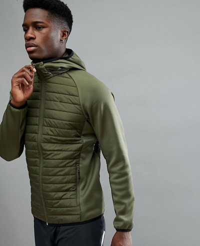 Core-Performance-Multi-Green-Padded-Jacket