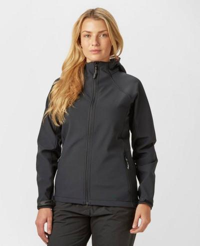 High-Quality-Fashion-Black-Hooded-Softshell-Jacket
