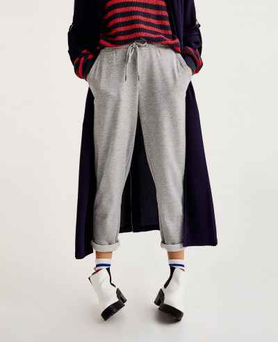 Jogging-Trousers-With-Turn-Up-Cuff-Sweatpant-Jogger