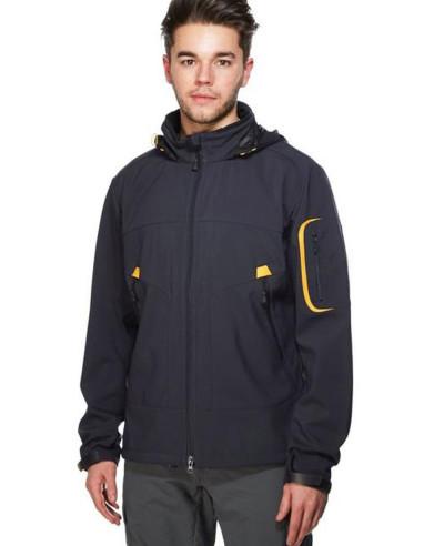 Men-Black-New-Fashion-Softshell-Jacket