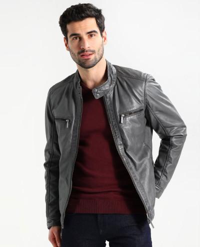 Men-Grey-Custom-Leather-Jacket
