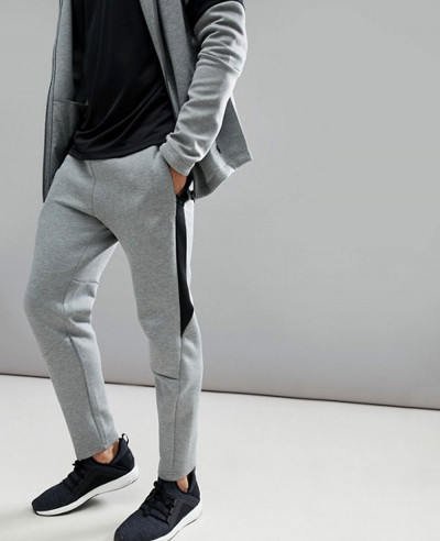 Men-Stylish-Sweatpant-Joggers-In-Grey