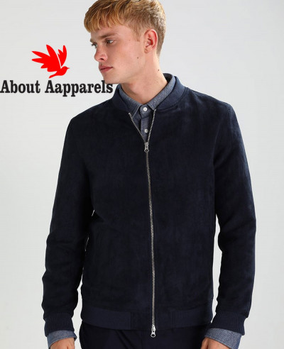 Navy-Blue-With-High-Quality-Men-Faux-Suede-Biker-Leather-Jacket