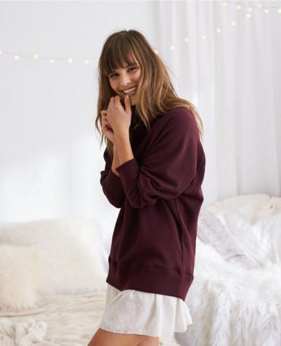 New-Fashion-Burgundy-Sexy-Hot-Sweatshirt