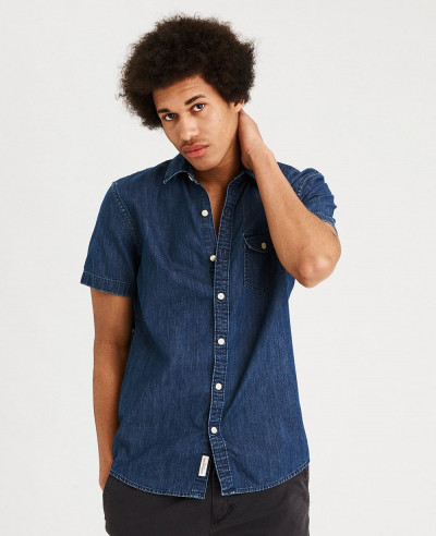 New-Look-Men-Short-Sleeve-Shirt