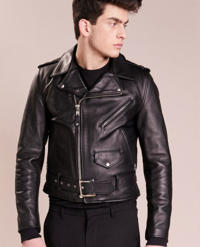 New-Men-Biker-Stylish-Leather-Jacket