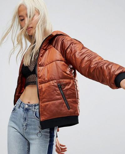 New-Online-Custom-stylish-Hooded-Padded-Jacket