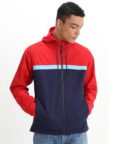 New-Stylish-Custom-Colour-Block-Windbreaker-Jacket