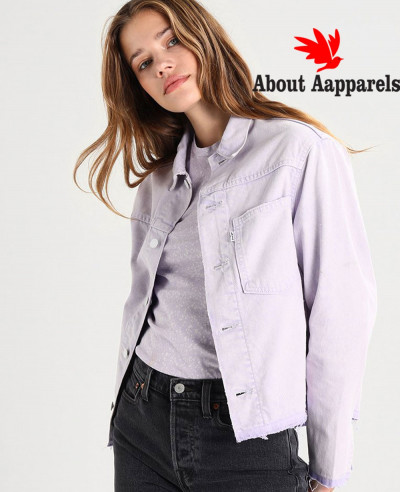 New-Unisex-Stylish-Purple-Denim-Jacket