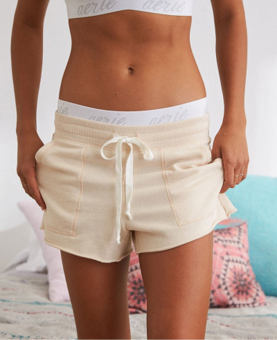 New-Women-Fleece-Short