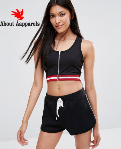 New-Zipper-Front-Crop-Top