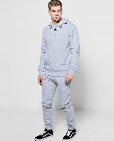Over-The-Head-Star-Embroidered-With-Pullover-Tracksuit