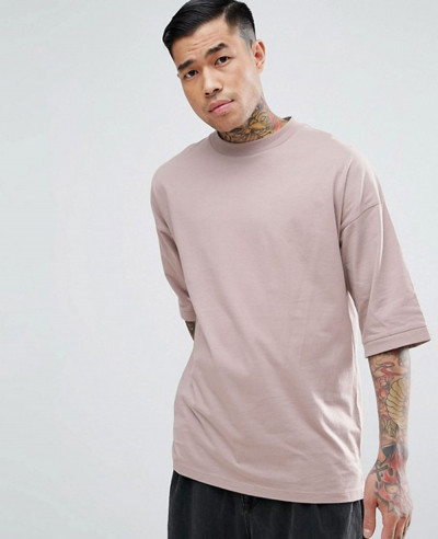Oversized-Loose-Fitting-With-Deep-Rib-T-Shirt