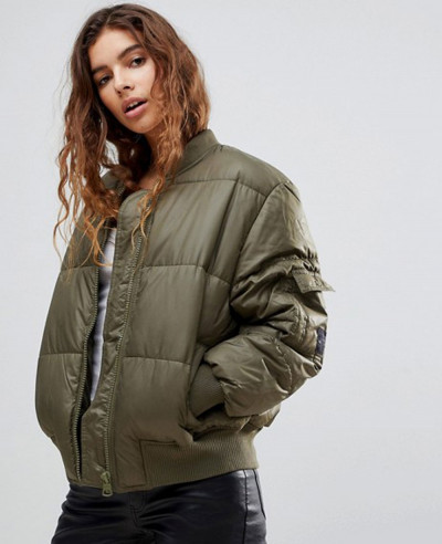 Risky-Quilted-Bomber-Puffer-Jacket
