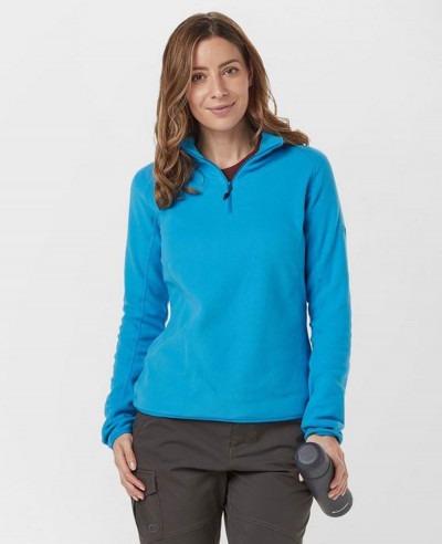Royal-Blue-Half-Zipper-Micro-Fleece-Jacket