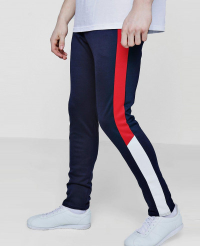 Skinny-Fit-Colour-Block-Drawcord-Jogger