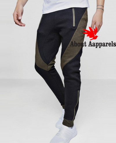 Skinny-Fit-Colour-Block-Joggers