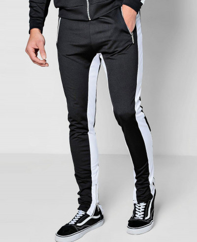 Skinny-Fit-Tricot-Jogger-With-Panel