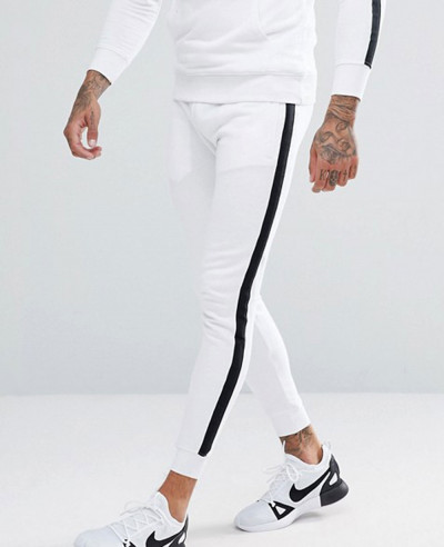 Skinny-Joggers-In-White-With-Side-Stripes-Exclusive