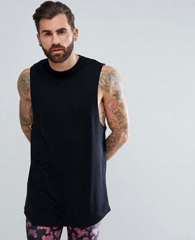 Super-Longline-Vest-with-Curve-Hem-In-Black