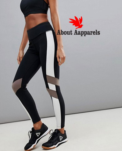 Training-Colorblock-Legging-In-Black