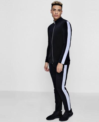 Velour-Black-Panel-Detail-Skinny-Fit-Tracksuit