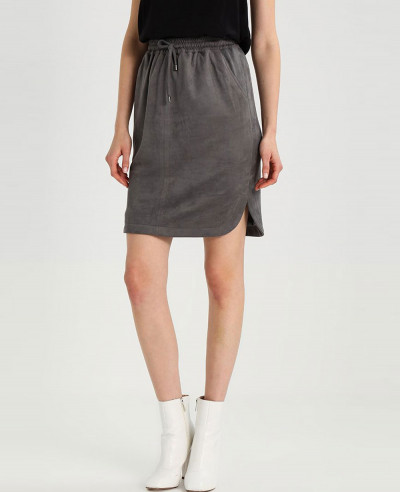 Women-Best-Selling-Leather-Suede-Pencil-Skirt