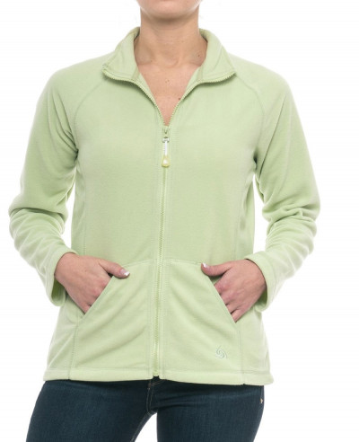 Women-Green-Polar-Fleece-Jacket