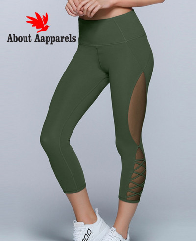 Women-Green-Skinny-Fit-Tights