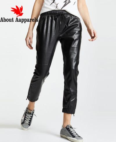 Women-High-Quality-Custom-Jogger-Biker-Leather-Pant