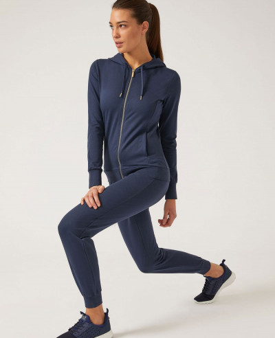 Women-Navy-Blue-Athletic-Tracksuit-In-Technical-Fabric
