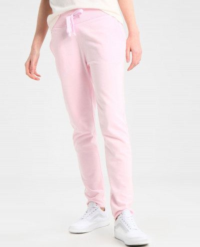 Women-Pink-Fleece-Sweatpant
