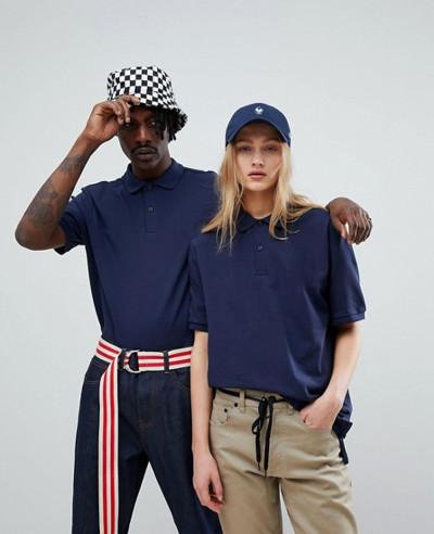 Women-Polo-Shirt-In-Navy