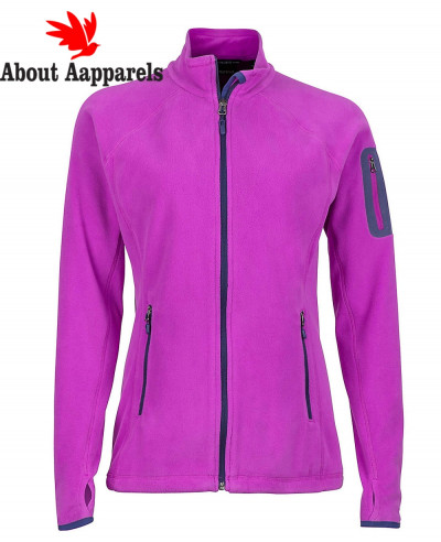 Women-Purple-Polar-Fleece-Jacket