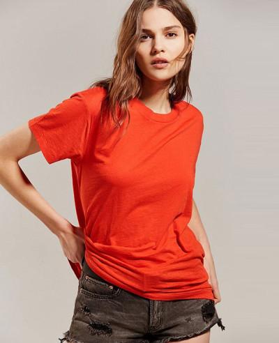 Women-Red-Tee