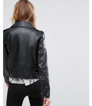 New-Cowhide-Faux-Leather-Biker-Jacket