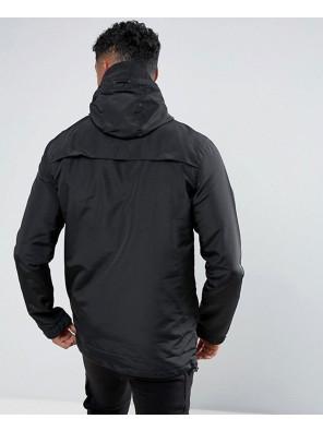 Degrees-Lightweight-Overhead-Windbreaker-Jacket-In-Black