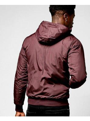 Hooded-Padded-Cagoule-With-Detailing-Windbreaker-Jacket-in-Burgundy