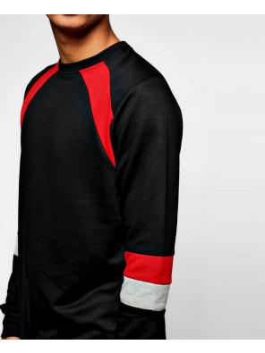 Men-Hot-Selling-Raglan-Sleeve-Colour-Block-Raglan-Sweatshirt