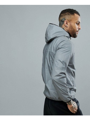 New-Stylish-Men-Grey-Custom-Windbreaker-Jacket