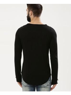 Square-Neck-With-Thumbhole-T-Shirt