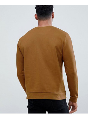Sweatshirt-In-Dark-Yellow