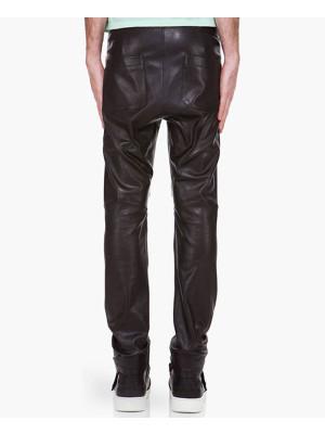 100%-New-Genuine-Sheep-Napa-Leather-Men-Designer-Biker-Leather-Pant