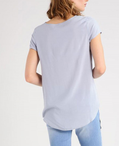 New-Longline-Grey-Custom-T-Shirt-