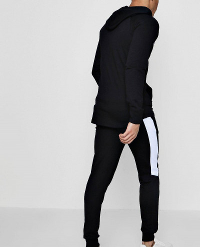 About Apparels Custom Muscle Fit Panelled Raglan Tracksuit