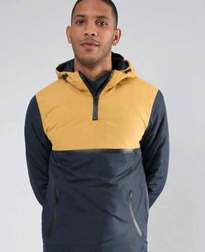 About Apparels Stylish Overhead Windbreaker Jacket